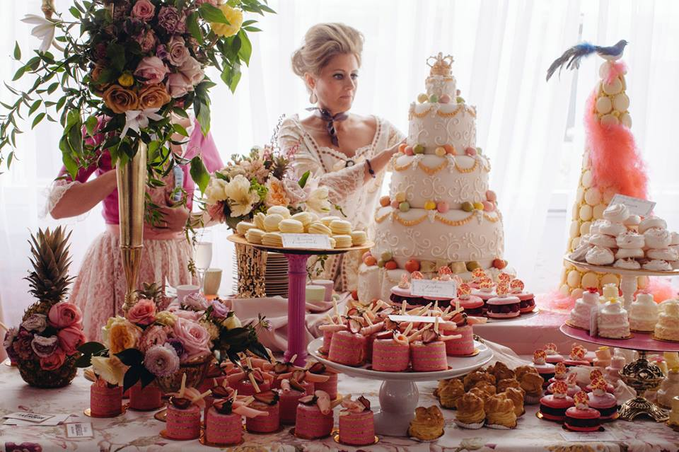 Calluna Events Modern Marie Antoinette Party A Huge
