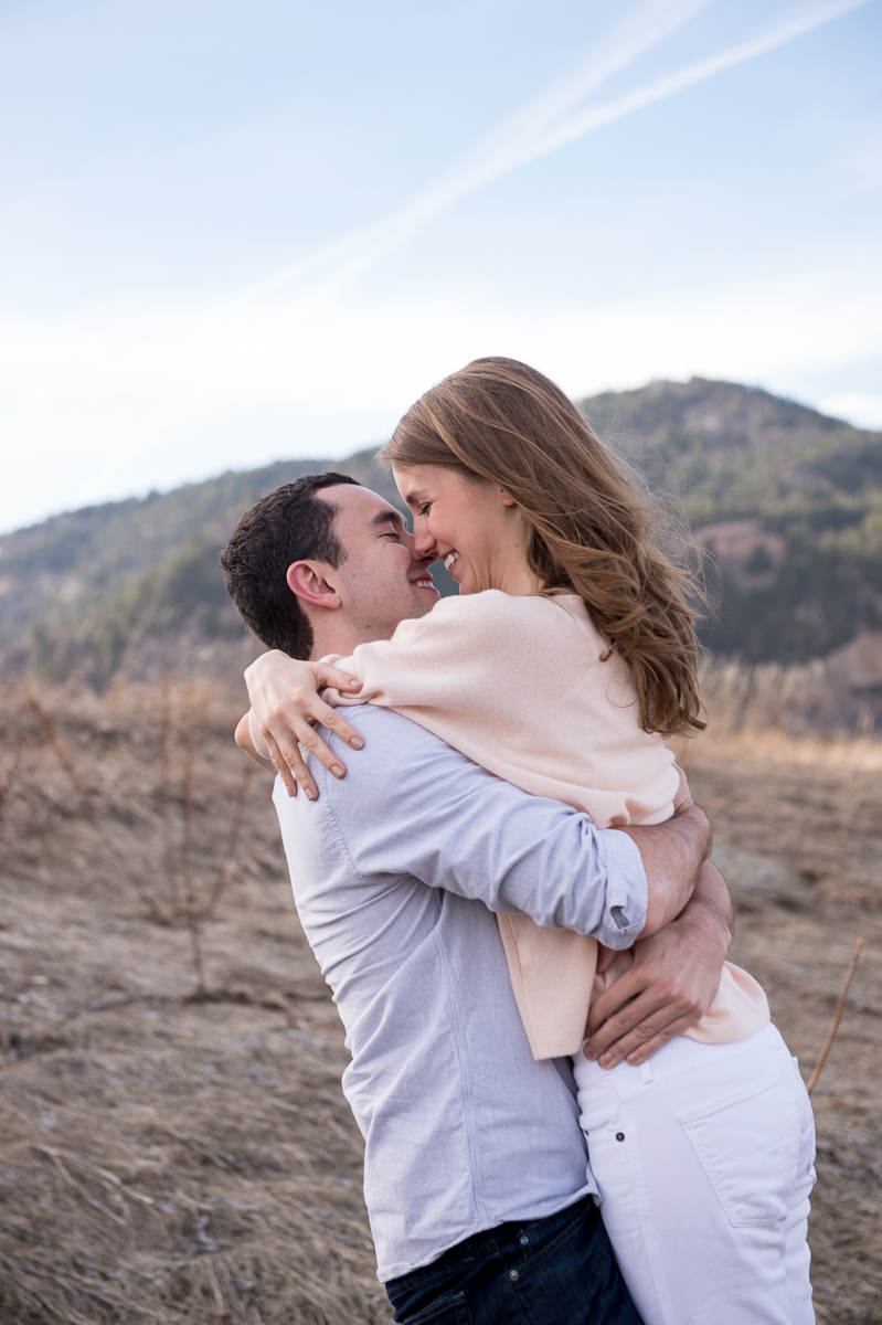 Molly Nick S Sweet Engagement Session Calluna