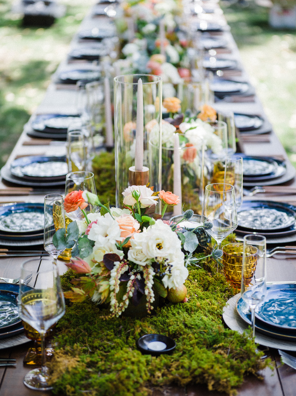 Tablescape Longmont Colorado Lone Hawk Farms Fall Colors Destination Wedding Sacred Intimate Calluna Events