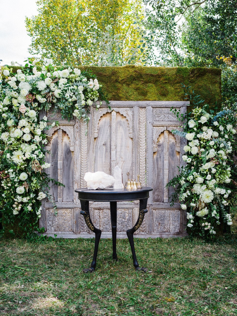 Outdoor Ceremony Backdrop