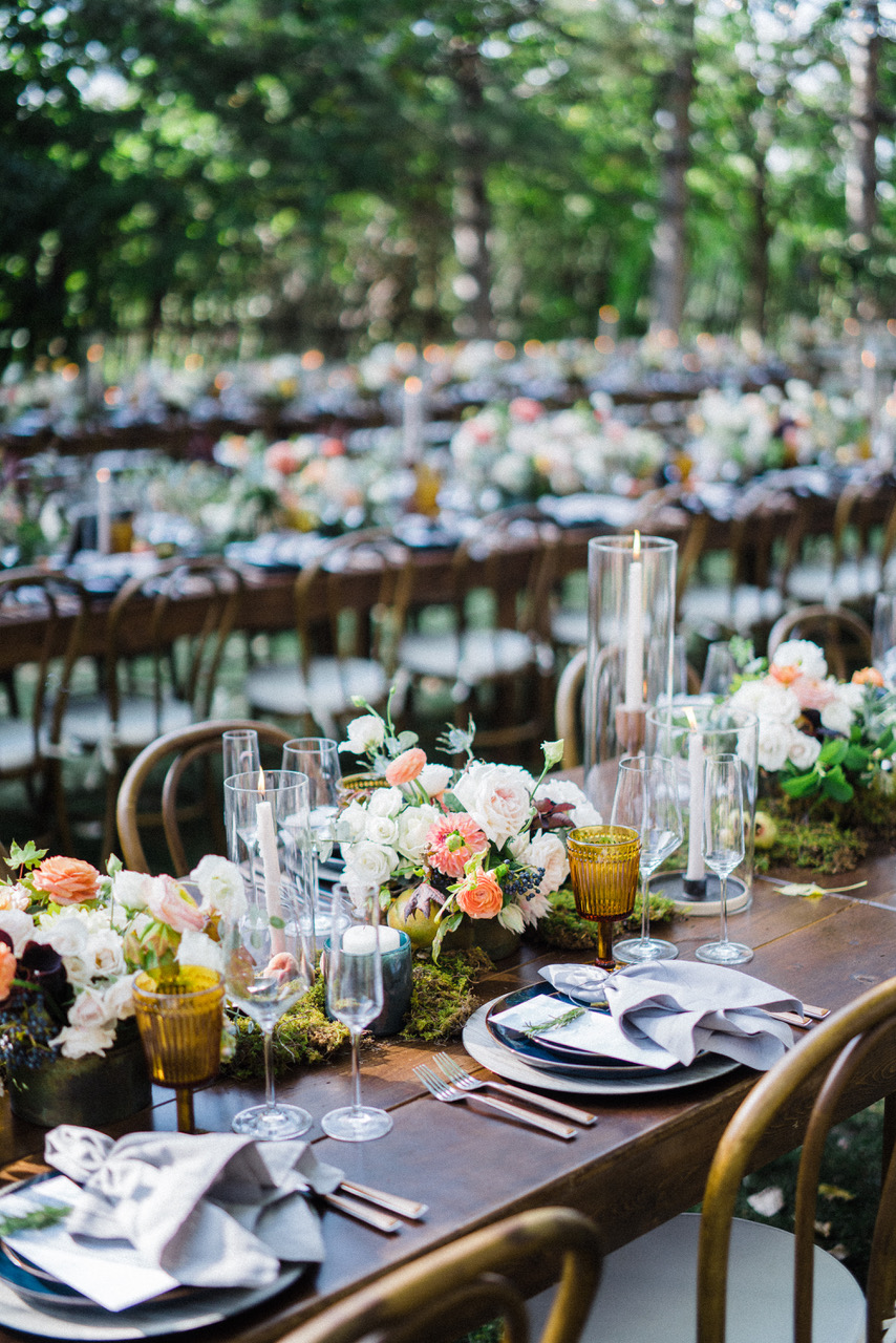Farm Table Summer Wedding