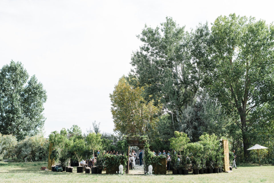 Outdoor Wedding Ceremony Circle