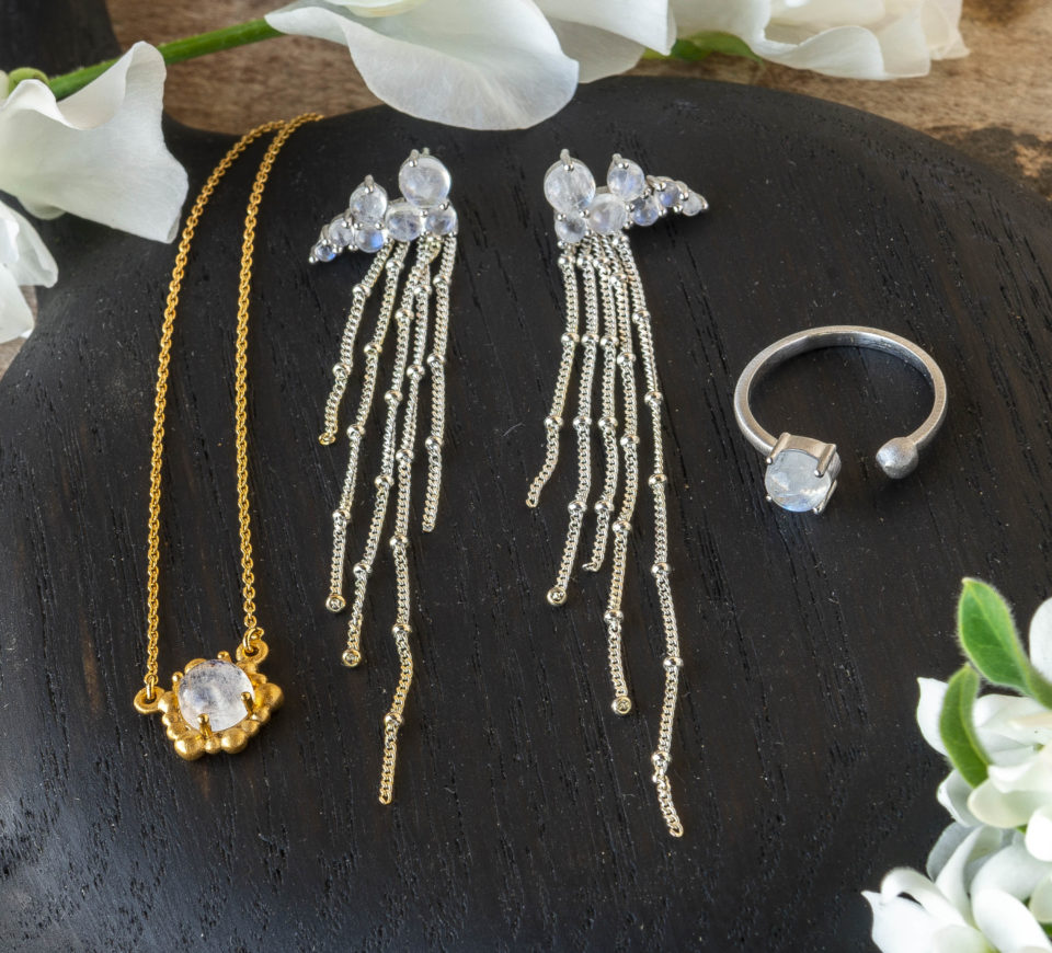Calluna Events holiday gift guide The Perfect Petal jewelry