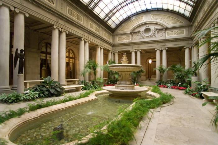 The Frick NYC garden court