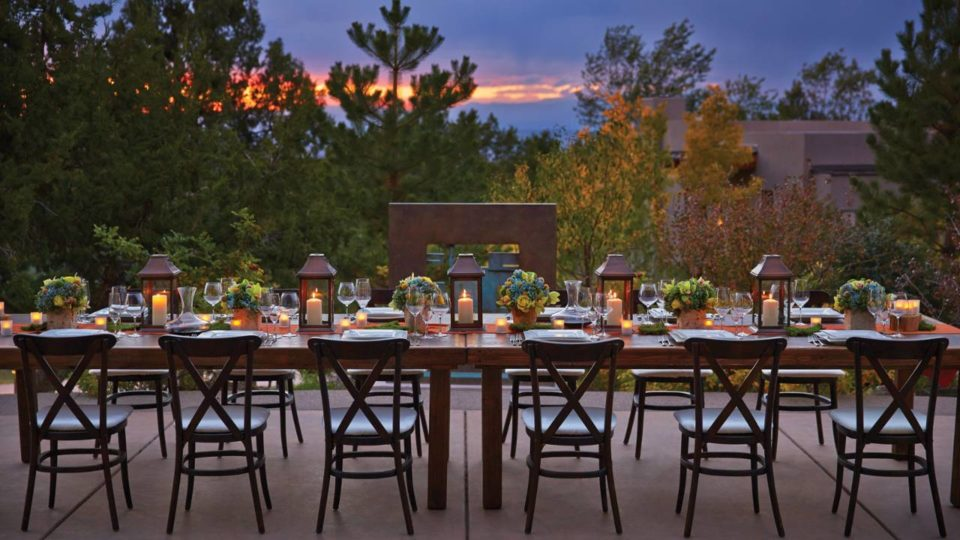 Four Seasons Santa Fe long table