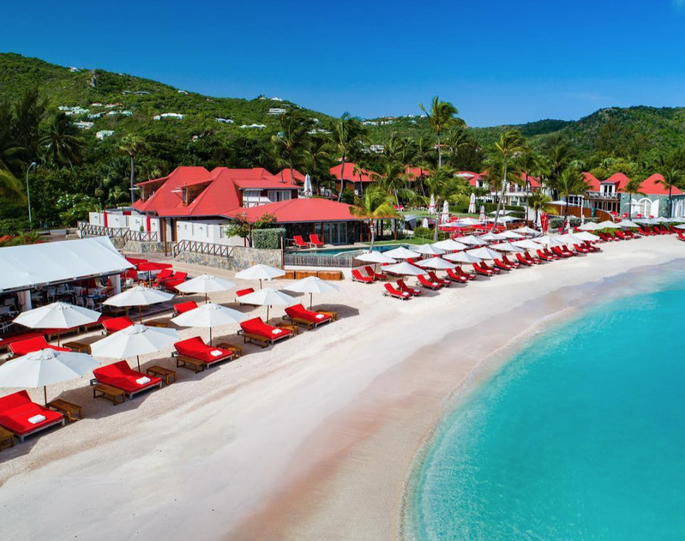 St. Barth's honeymoon beach destination