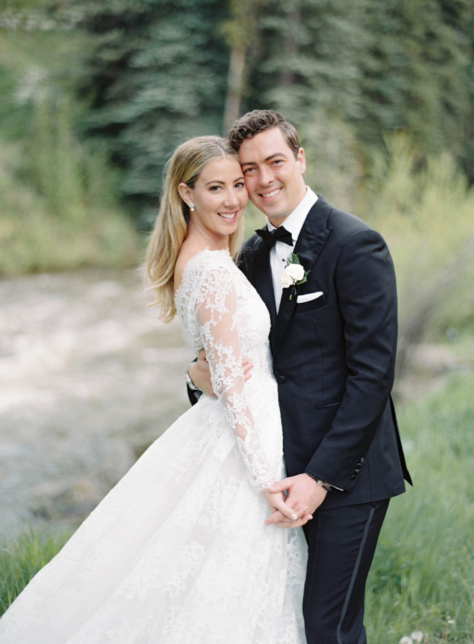 bridal portraits vail colorado wedding