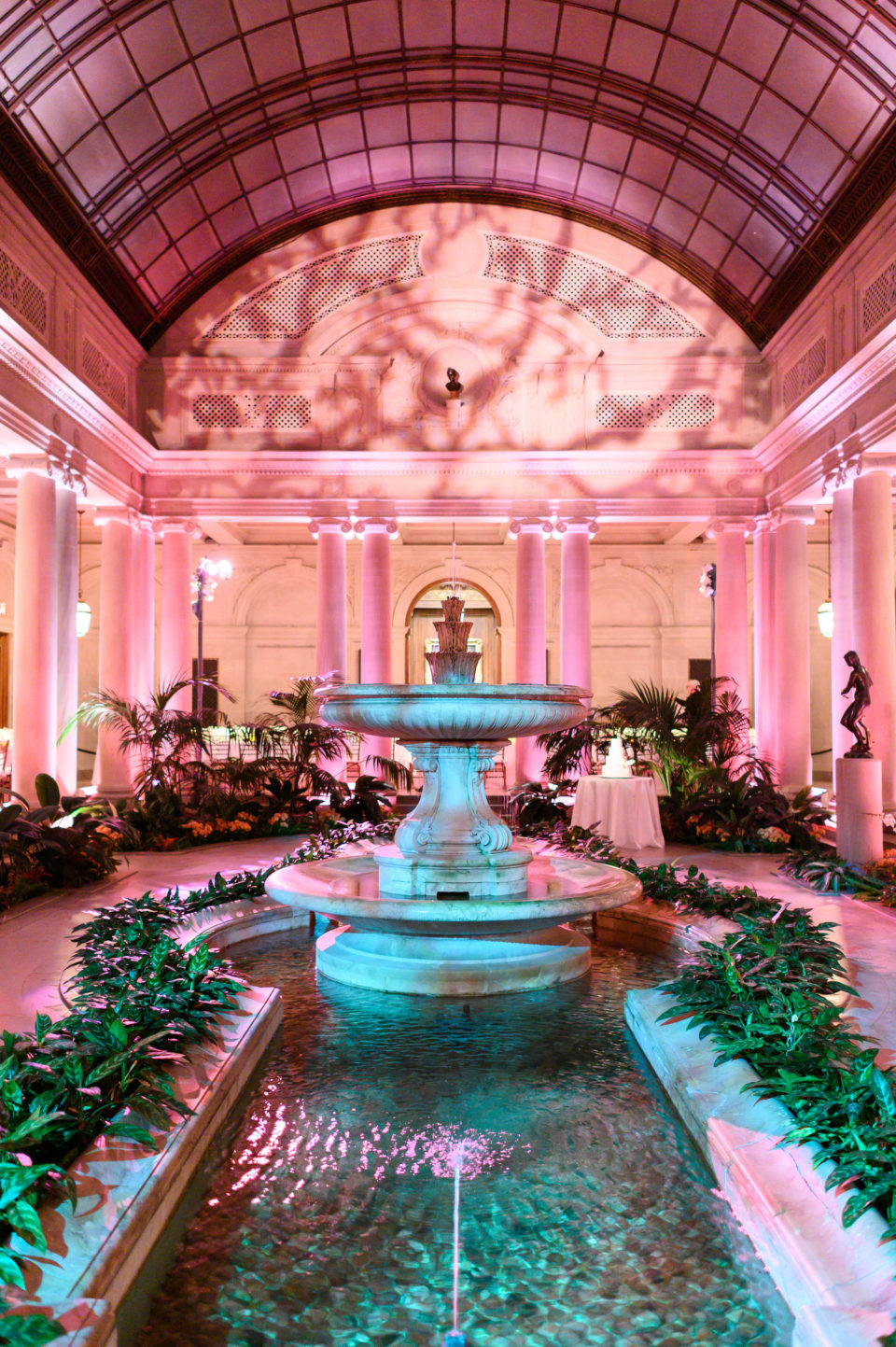 the frick collection wedding interior shot