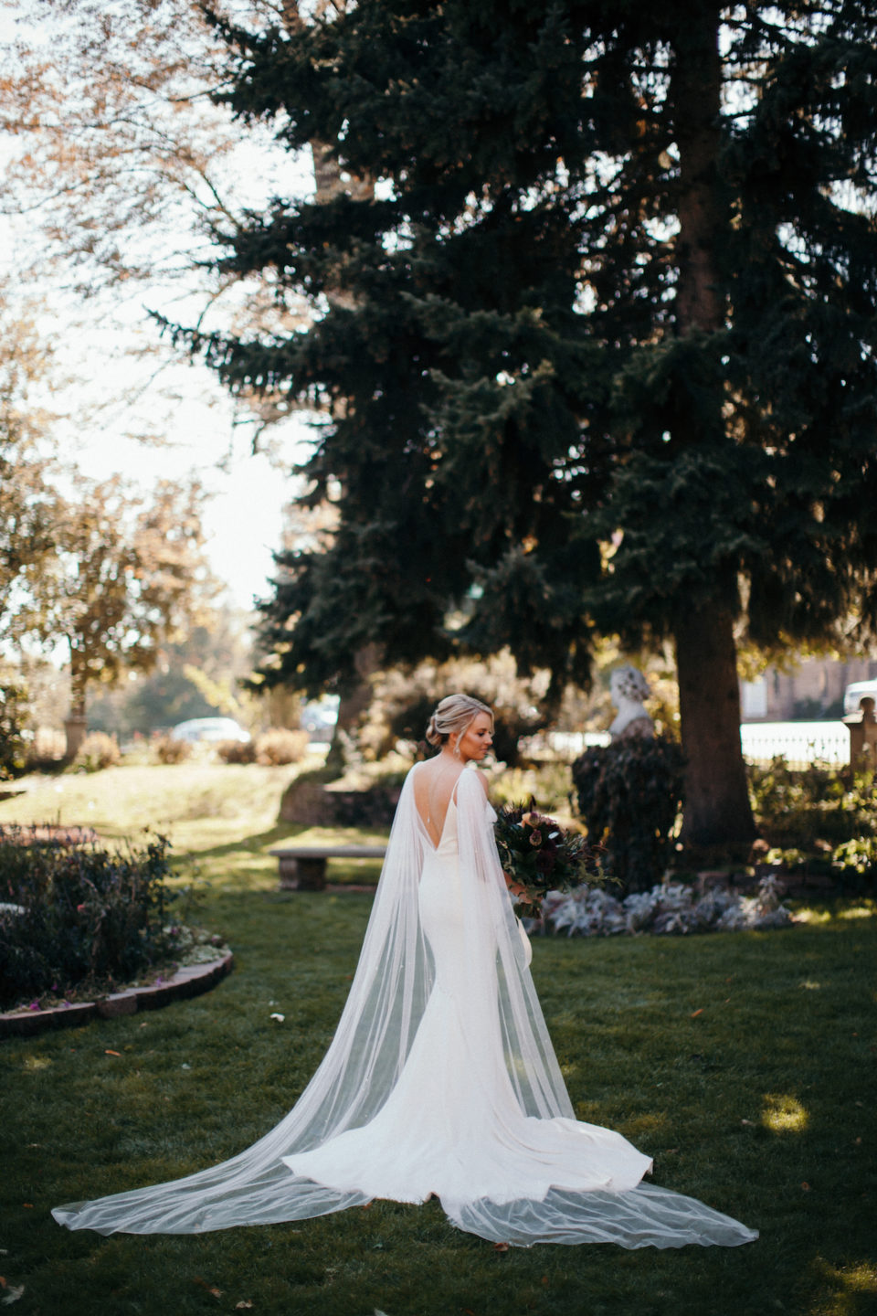bridal portraits colorado st vrain